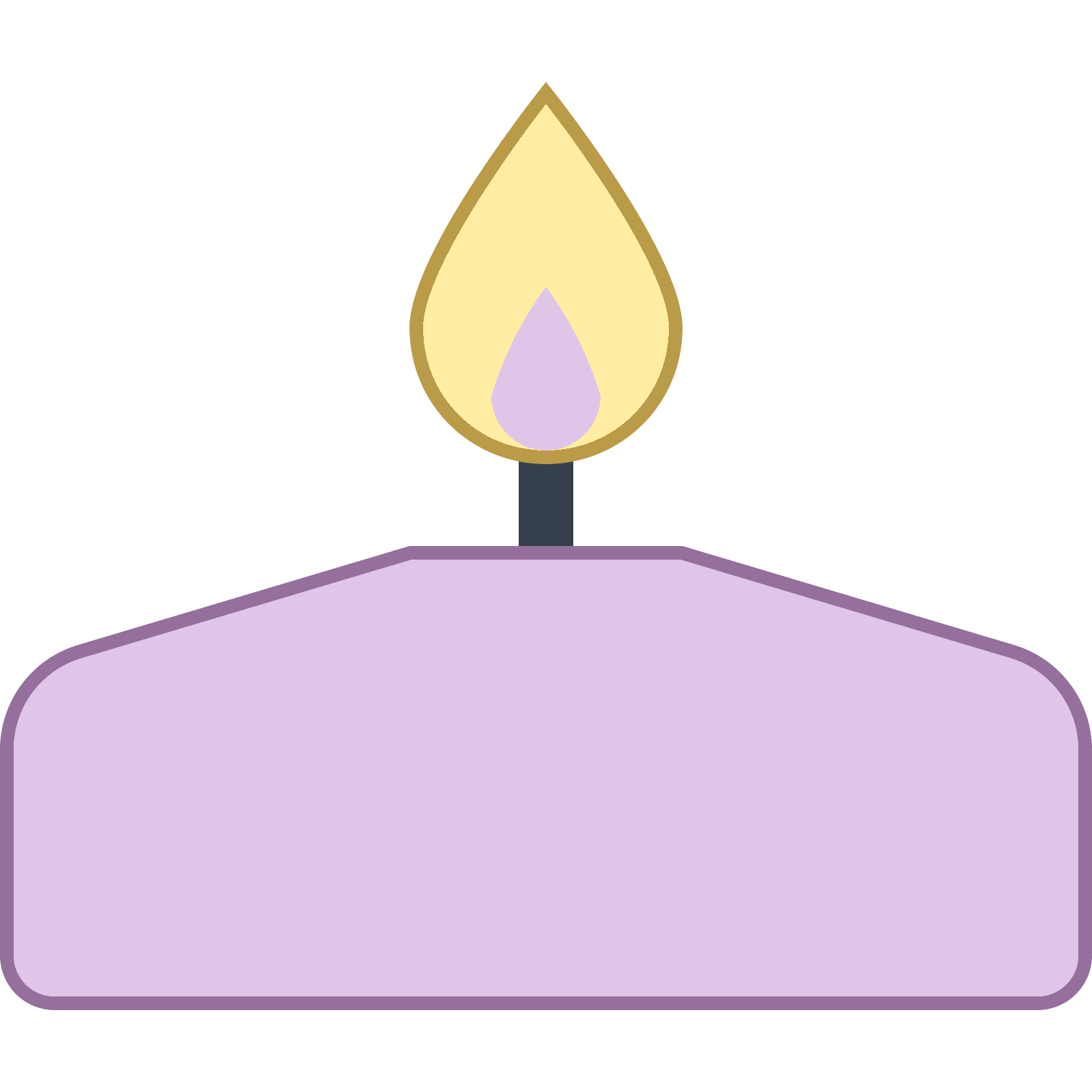banner free download Spa Candle Icon