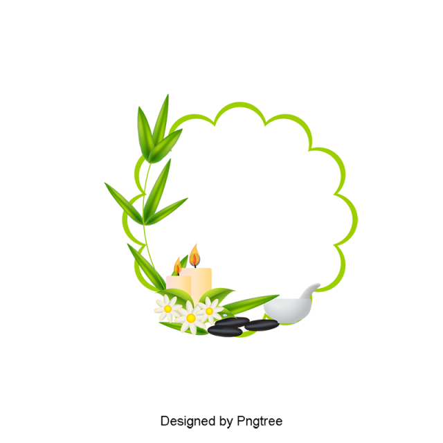 vector free download Simple Cartoon SPA Decoration Design
