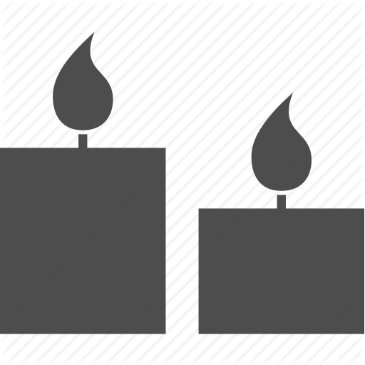 svg black and white library By aleksandr candle fire. Spa vector rock