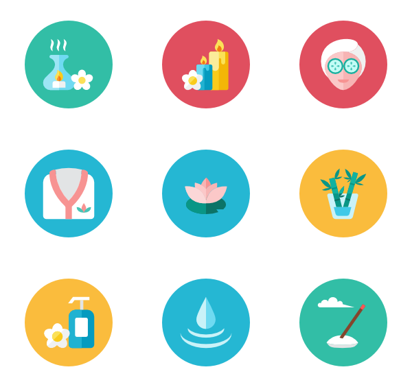 image freeuse download Spa Icons