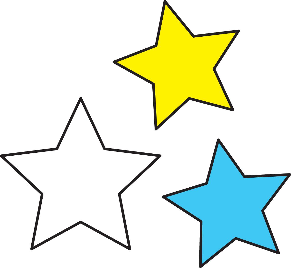 jpg free download Star clipart space