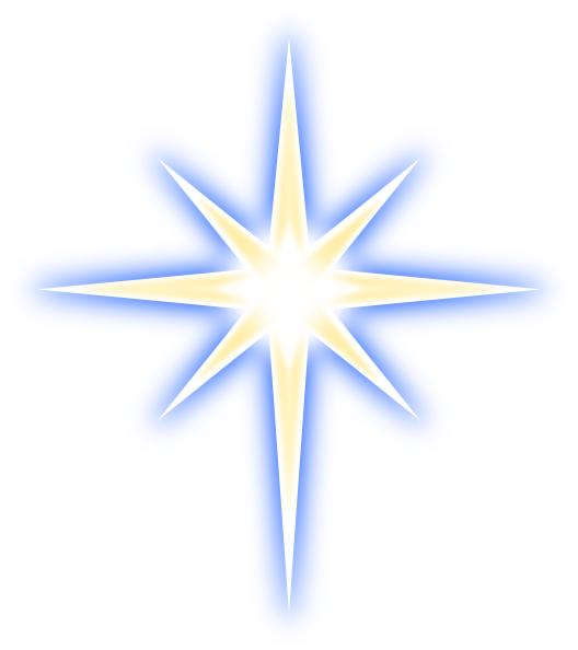 png library Glowing Stars Clipart