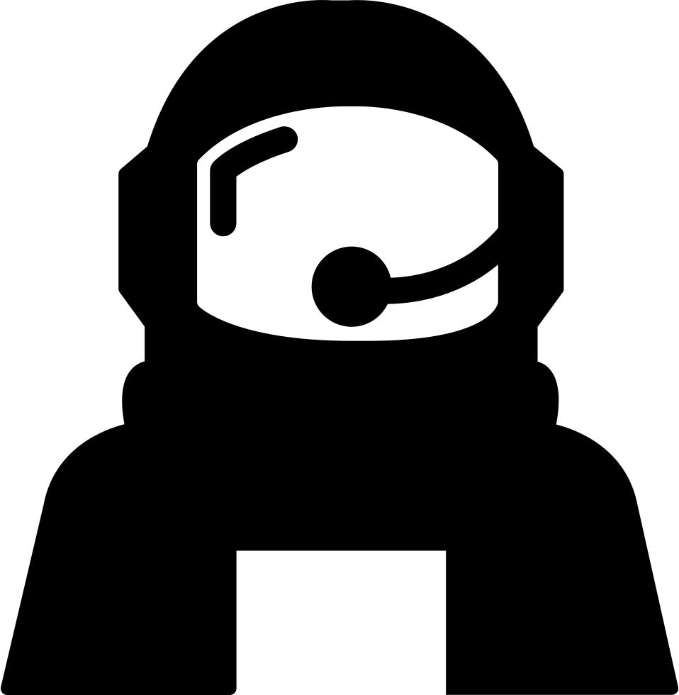 banner transparent download Astronaut helmet protection for. Space svg