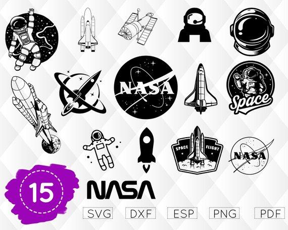 clip art freeuse stock Nasa clipart astronaut cricut. Space svg