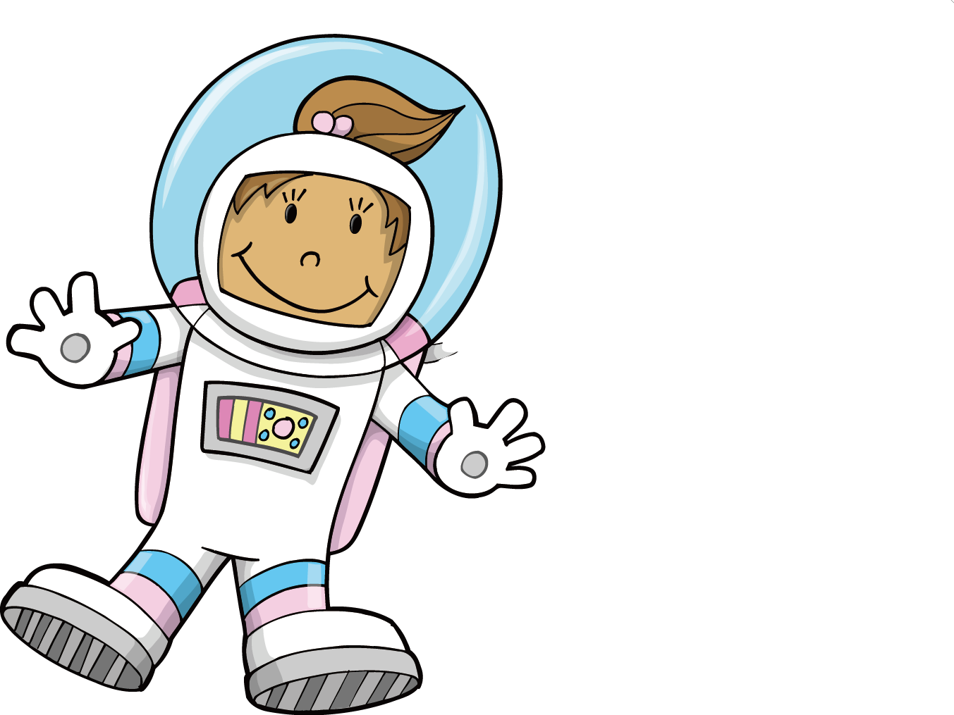 vector Collection of free Astronaut vector child