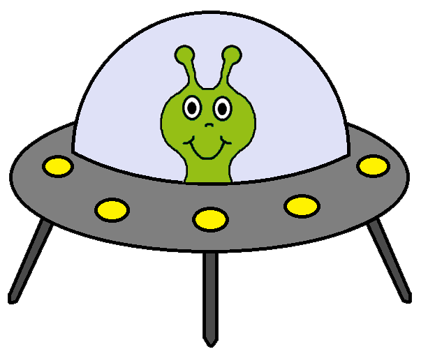 graphic library Spaceship clipart. Alien