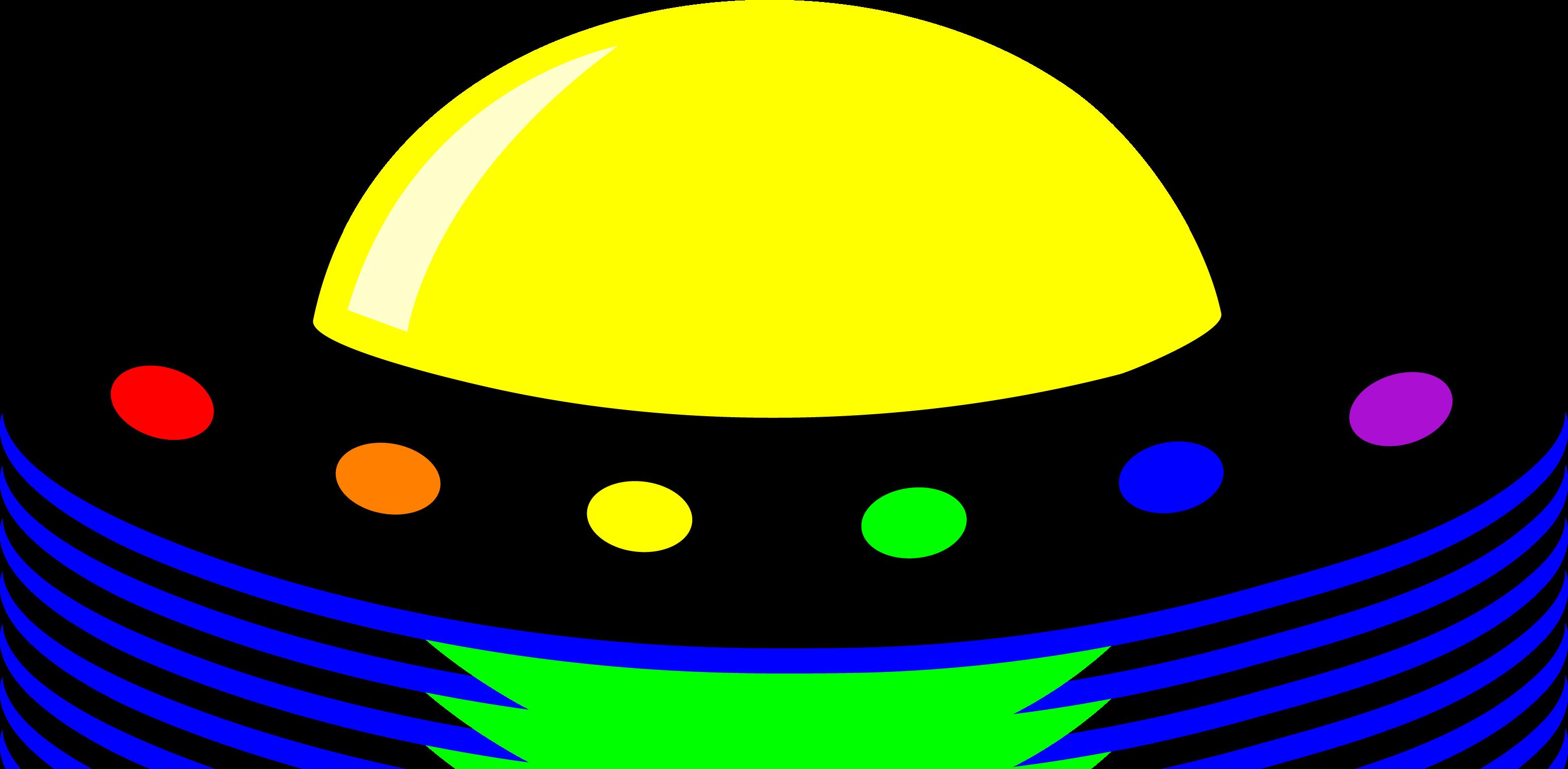 freeuse Ufo Spaceship Clipart