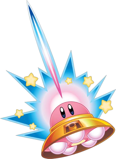svg royalty free library transparent ufo kirby #106911131