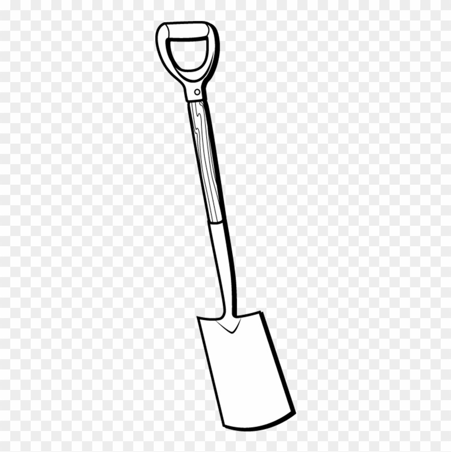 clip art download At paintingvalley com explore. Spade drawing.
