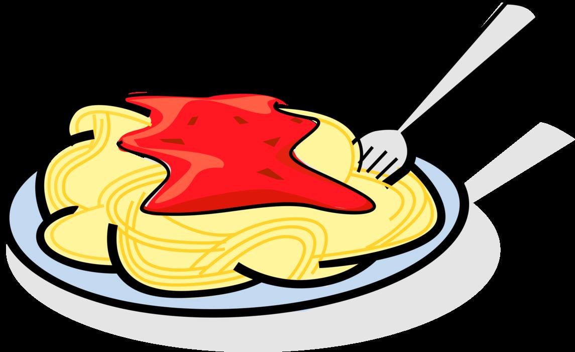 jpg library Plate of Italian Pasta Spaghetti