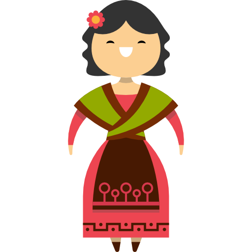 png transparent stock People traditional ethnic woman. Spain clipart person spanish.