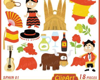 svg free download Spain clipart student spanish. Clip art cute toreador