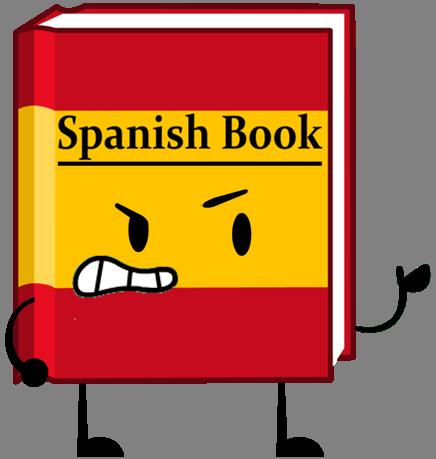 clipart black and white Spanish clipart book spanish