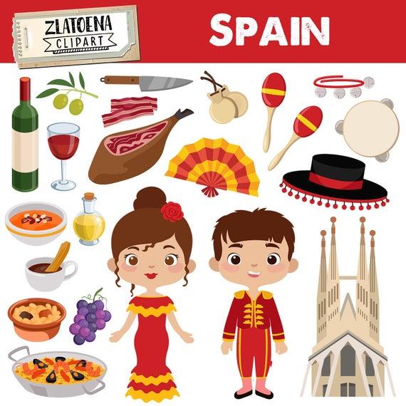 clip art freeuse stock Spain clip art fiesta. Spanish clipart