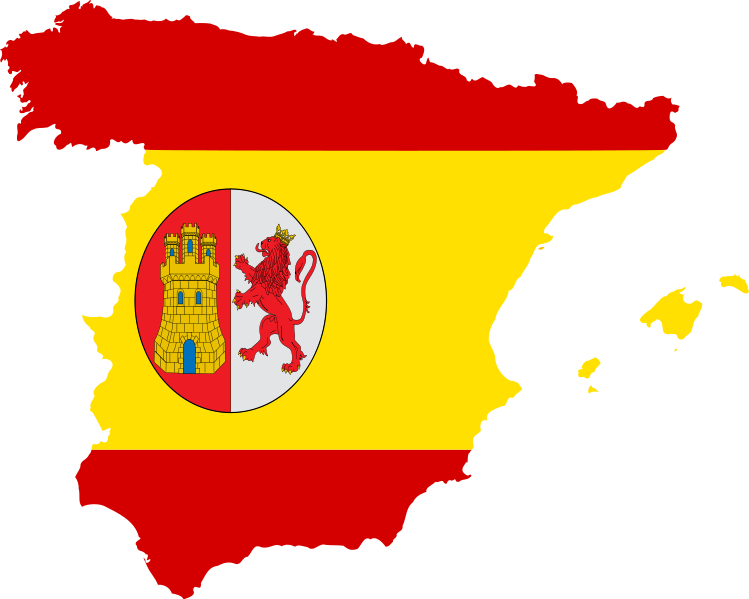 jpg royalty free download spanish flag clipart #63135172