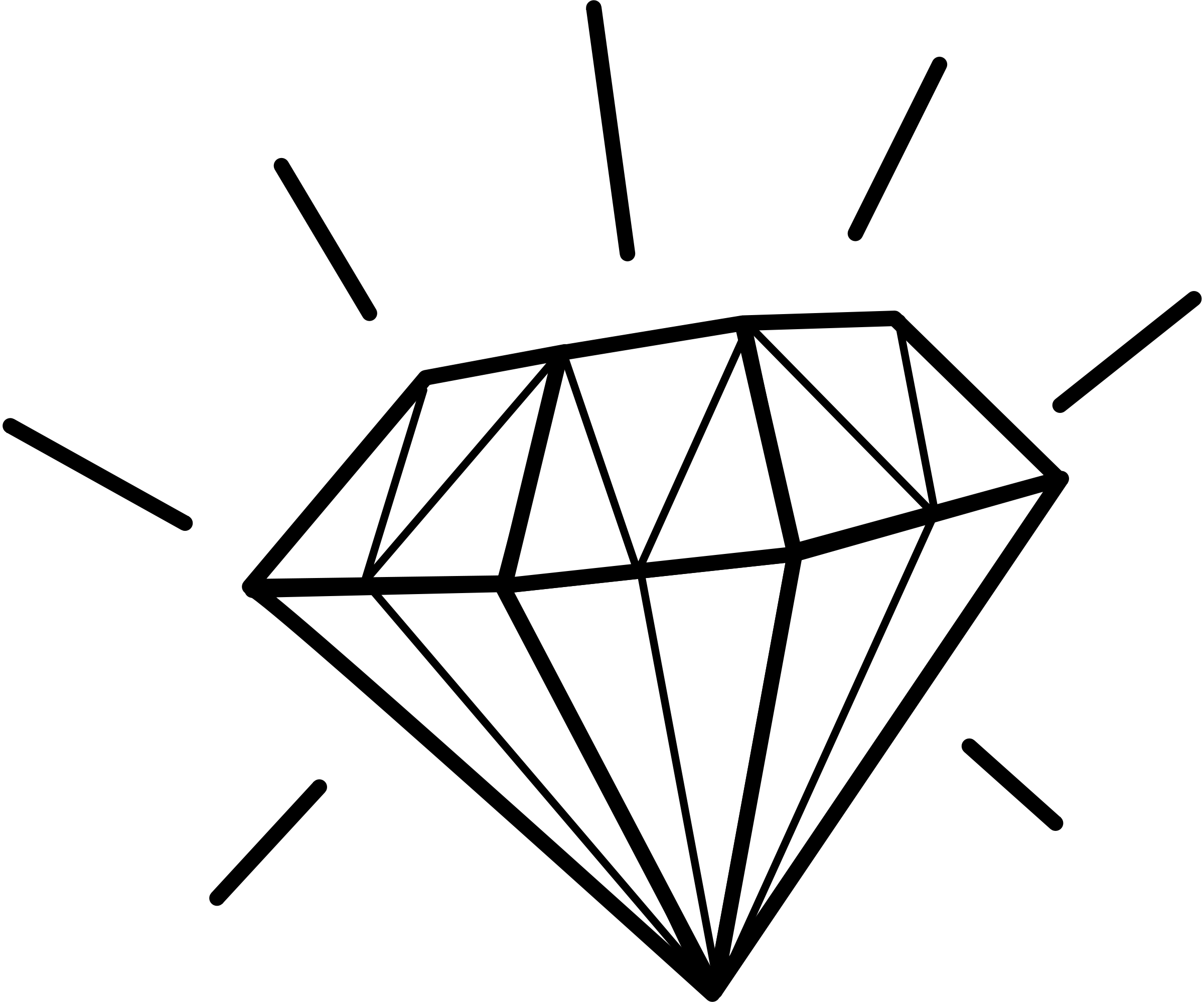 clip art black and white library Collection of free Diamonded clipart diamond shine