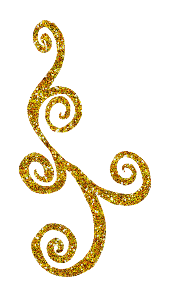 svg freeuse Glitter Swirls Clipart