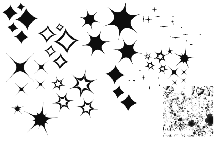 clip art black and white stock Pics skill. Sparkle drawing