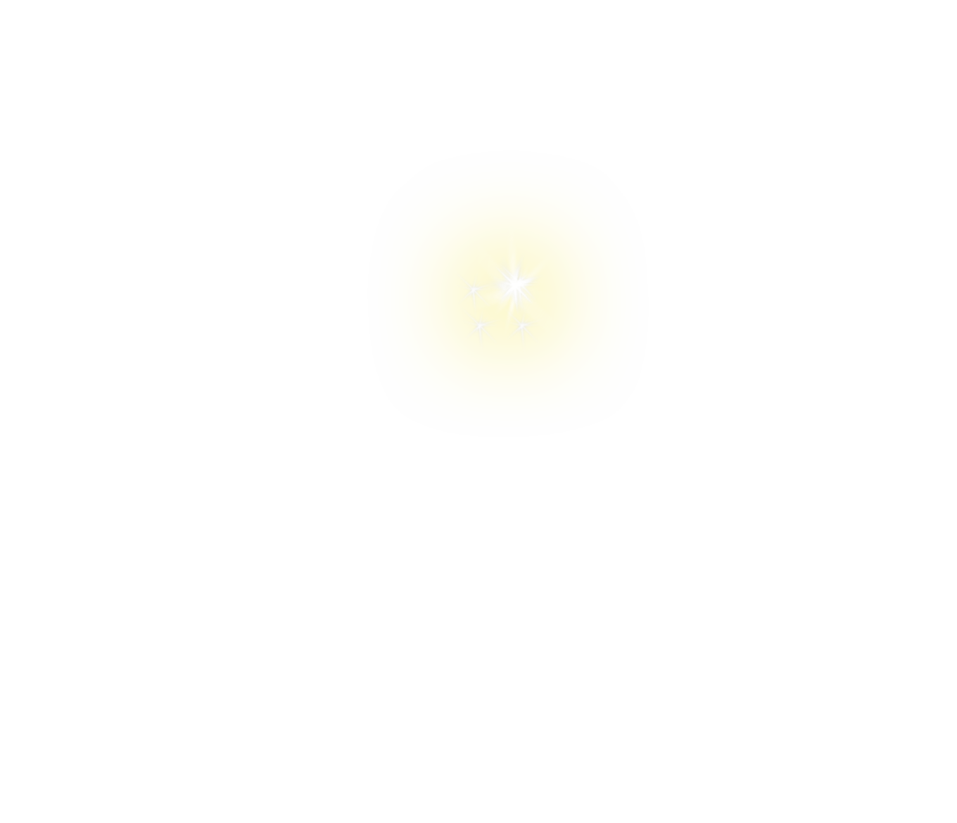 clip royalty free Png yellow . White sparkle clipart
