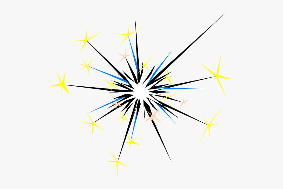jpg free library Firework free . Sparks clipart.