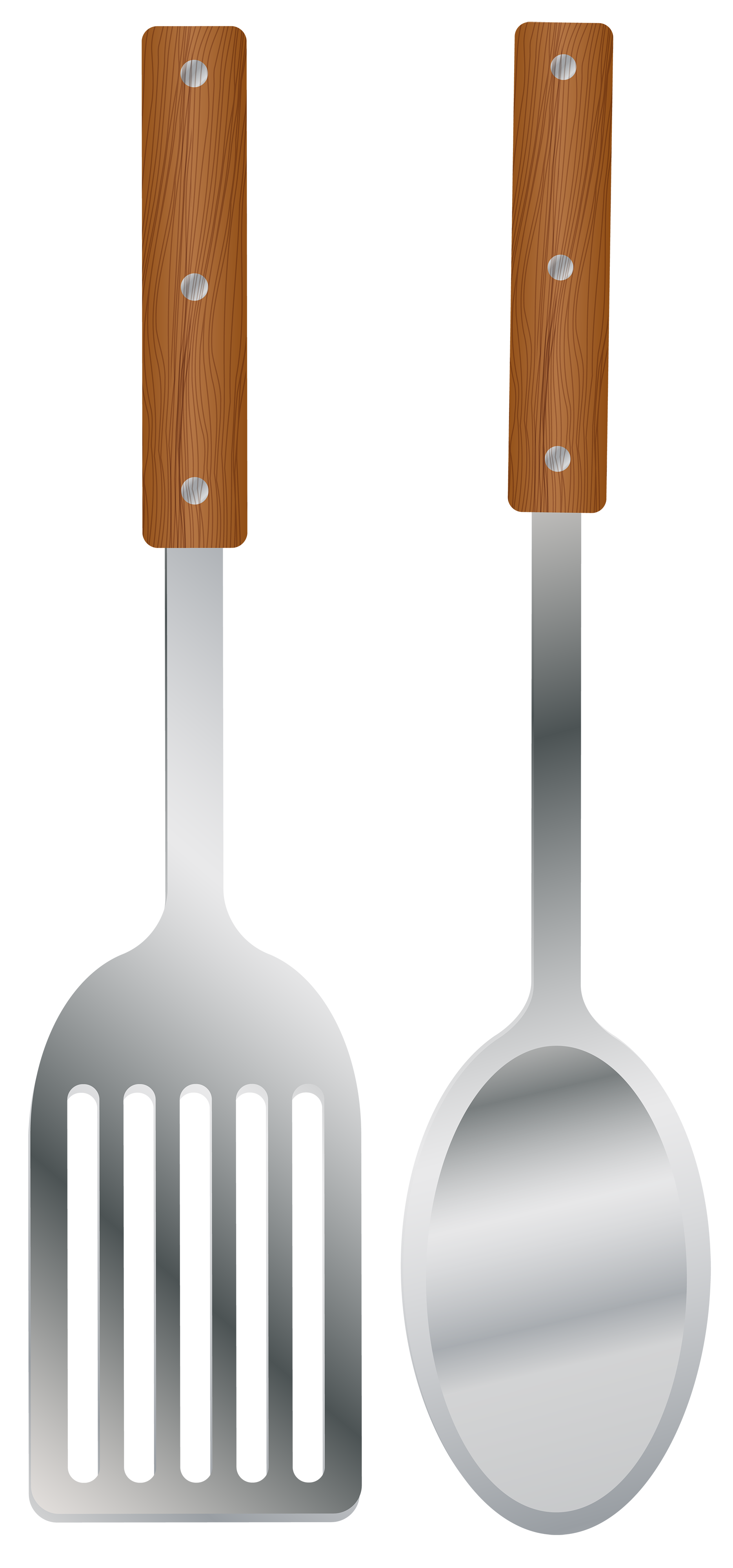 vector stock Kitchen Spoon and Spatula PNG Clipart