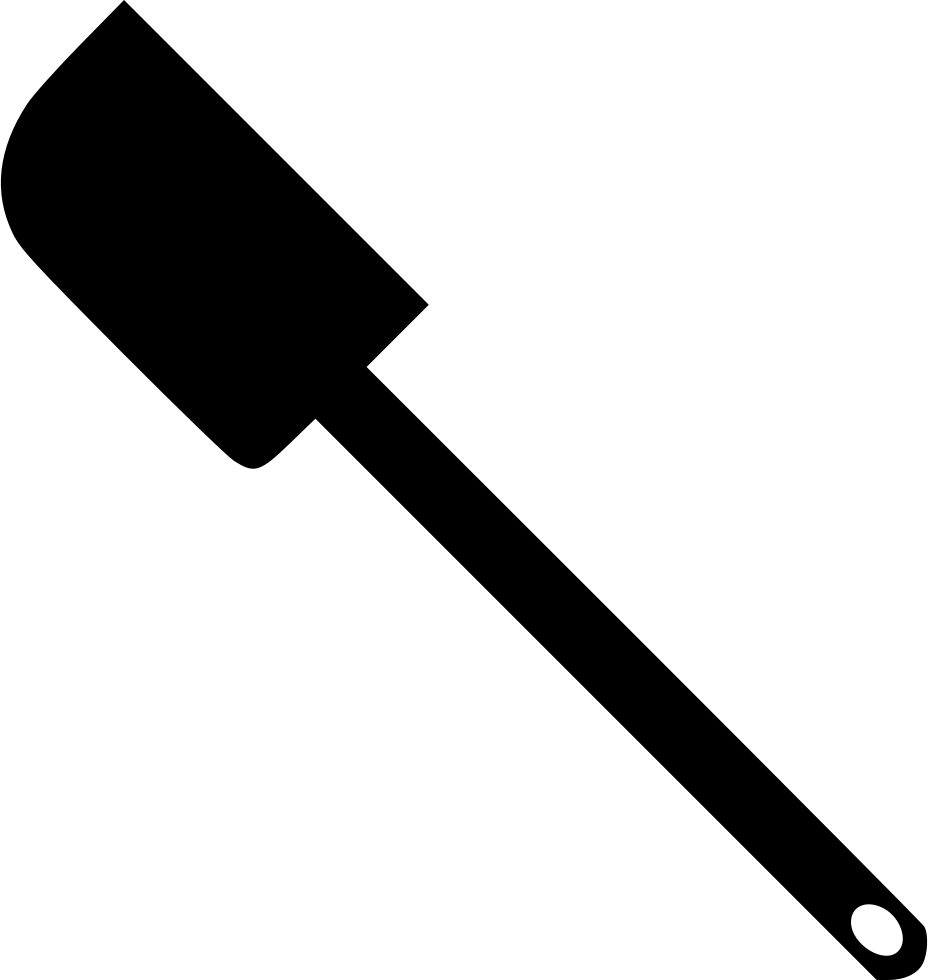 image library Spatula Computer Icons Black and white Clip art
