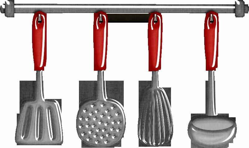 clipart free download Utensils clipart vintage. Retro cocinera utensilios de