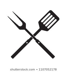svg library BBQ or grill tools icon