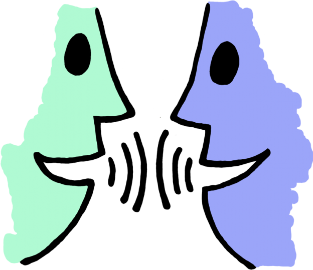 picture freeuse Speaking clipart. Talking mouth speak or.