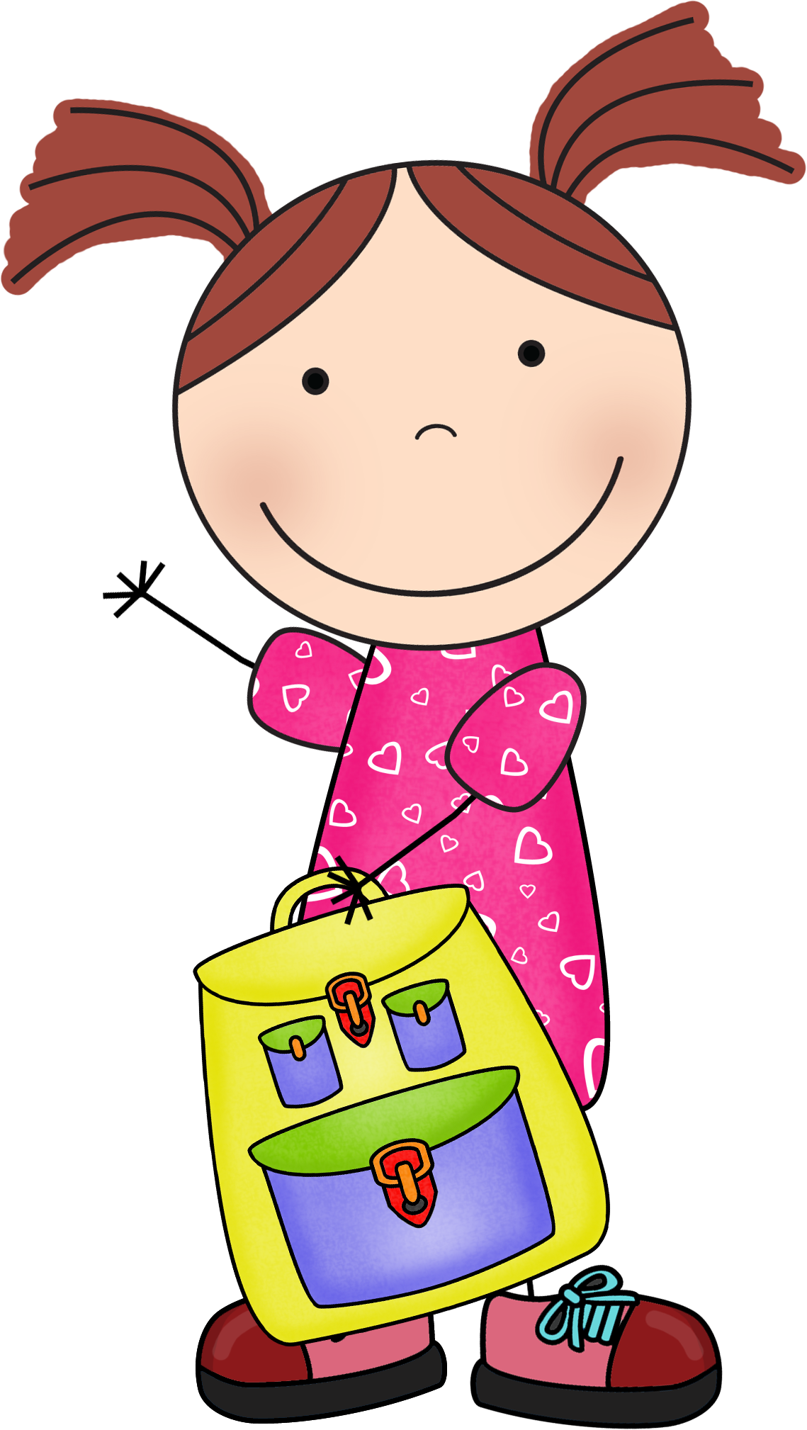 banner royalty free library Backtoschool susie png school. Stick kid clipart