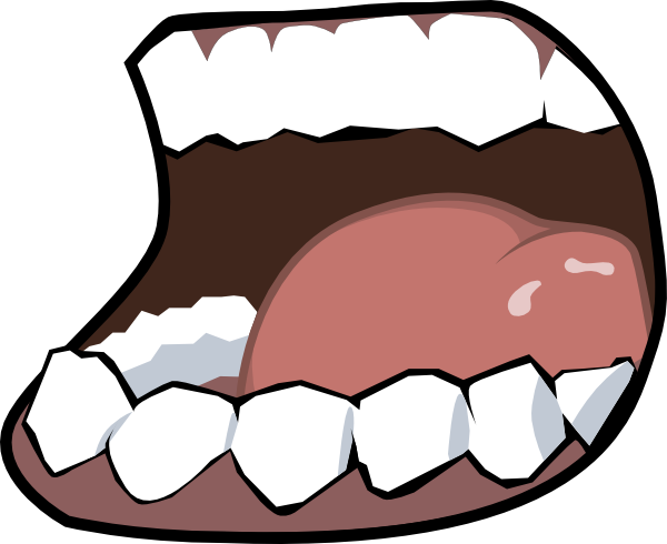 clipart library library Mouth Speak Clip Art at Clker