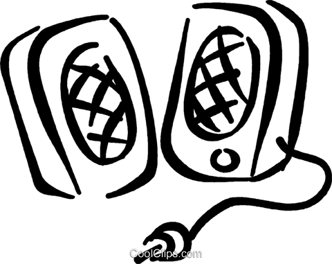 png transparent download speakers drawing black and white #103493430