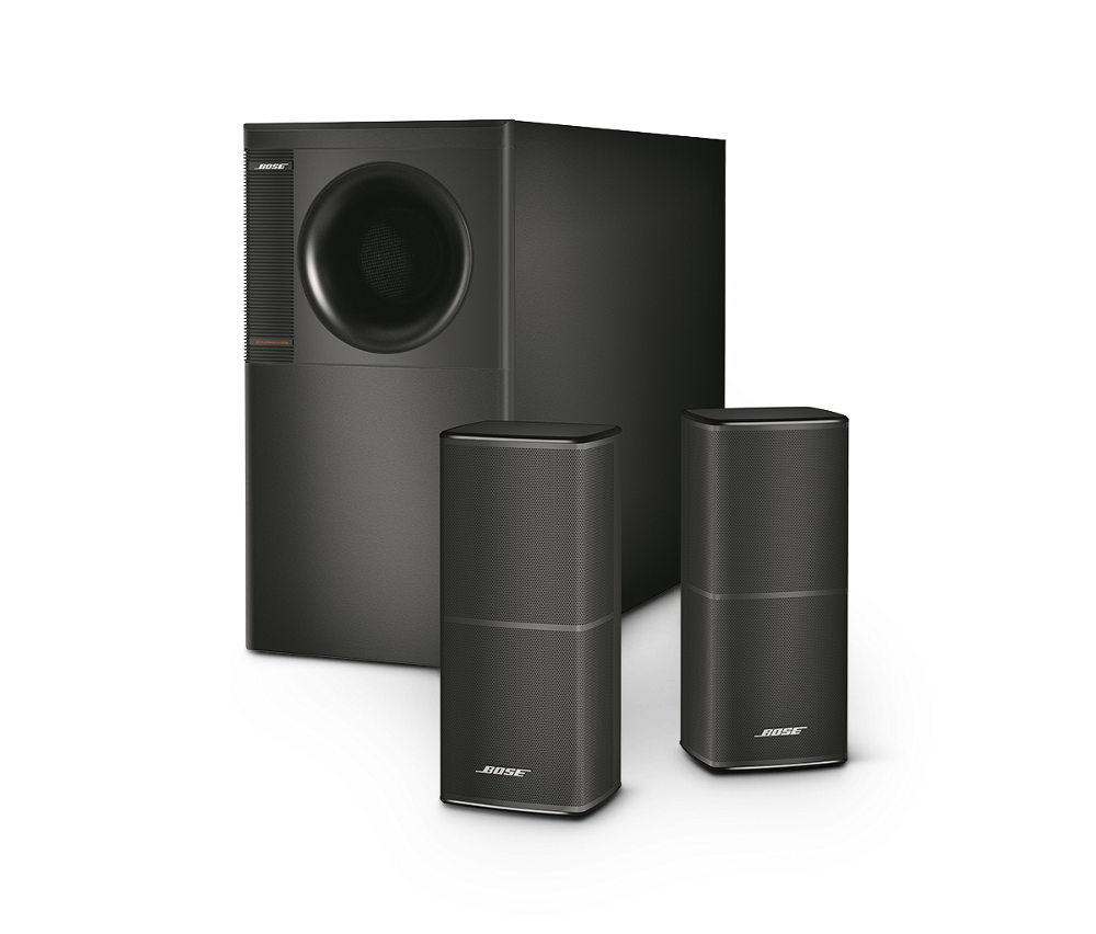 clipart black and white download Bose Acoustimass