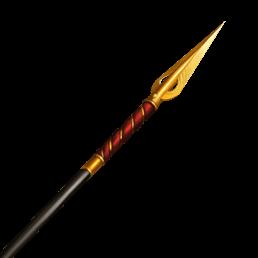jpg black and white spear transparent golden #103515844