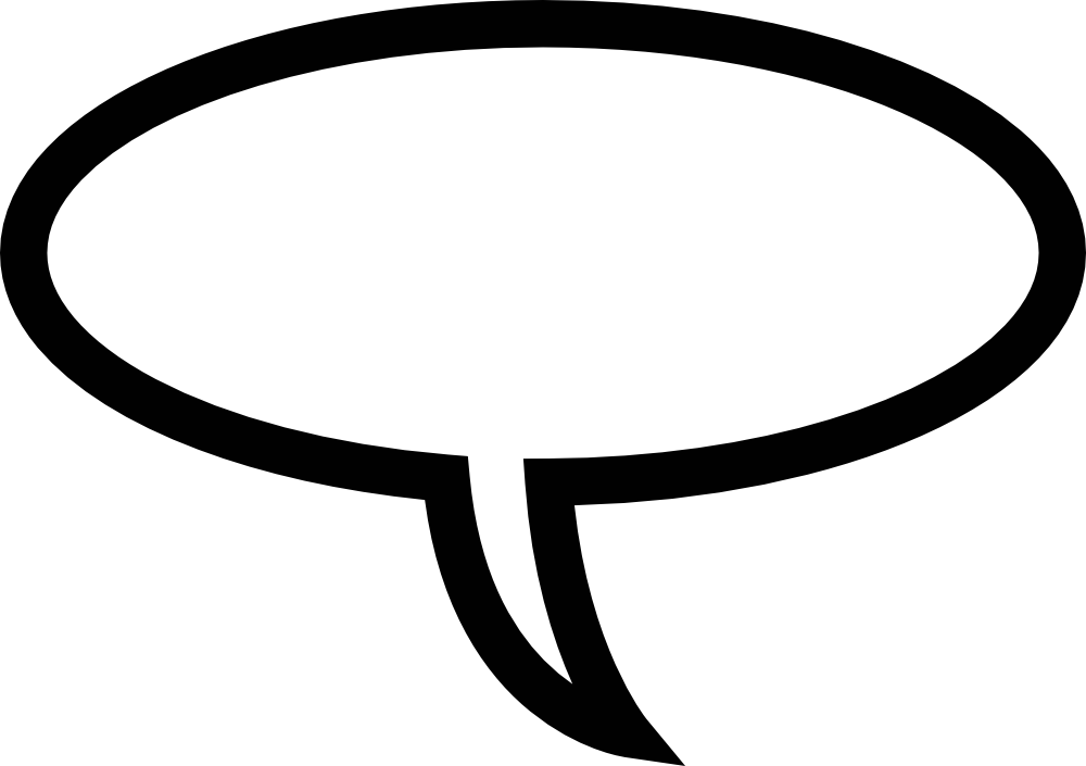 svg library download Speech Bubble Clipart