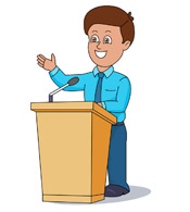 picture stock Free president cliparts download. Speech clipart