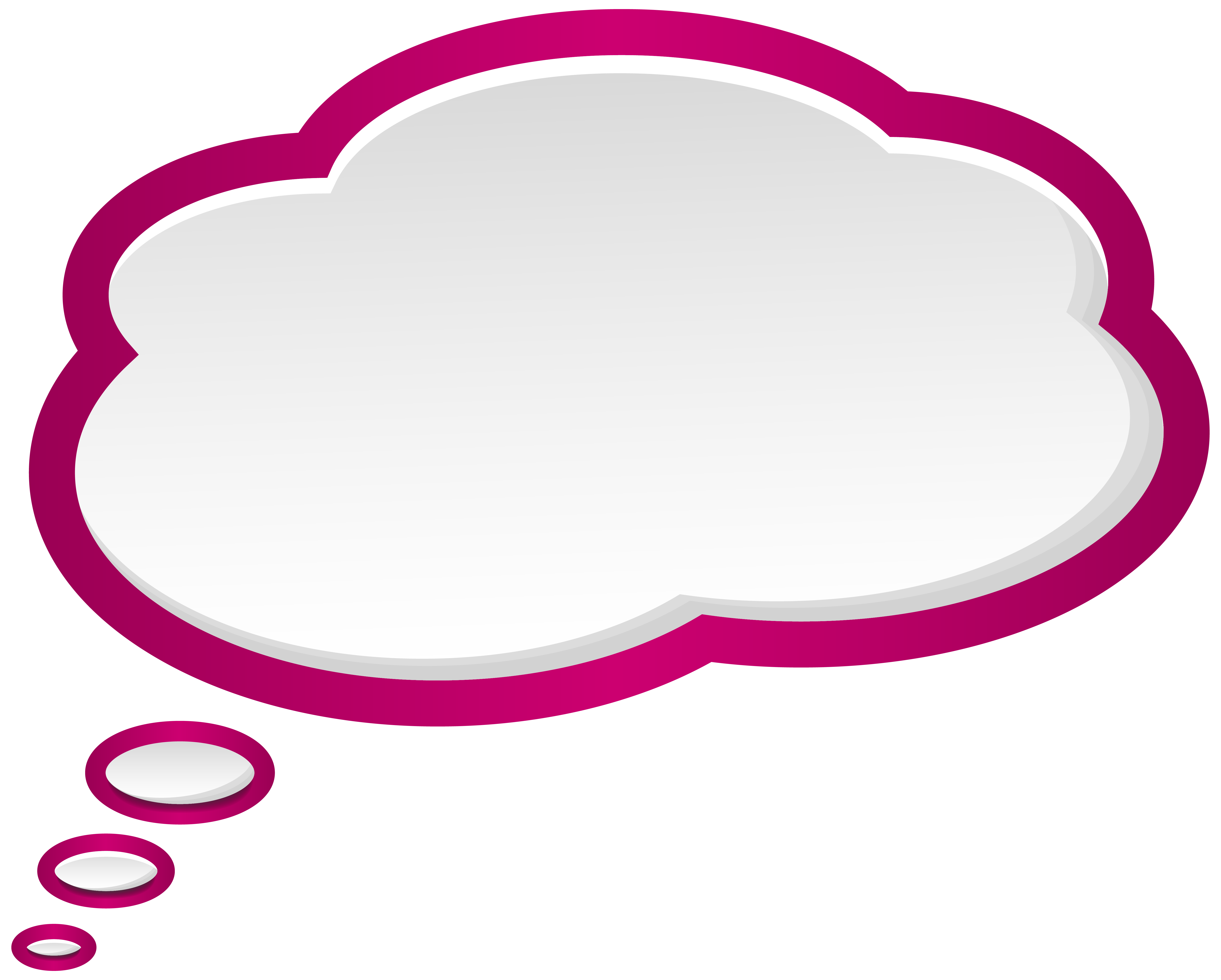 clipart freeuse download Bubble pink white png. Speech clipart