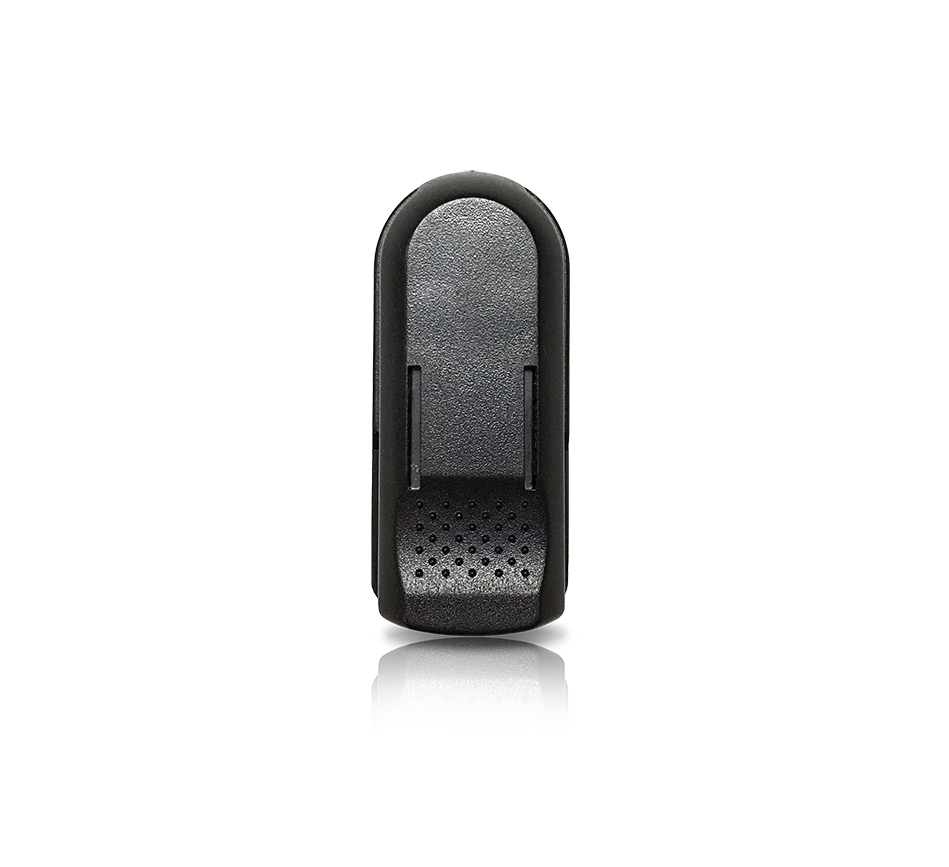 svg black and white library Speed clip. Durafon handset belt swivel