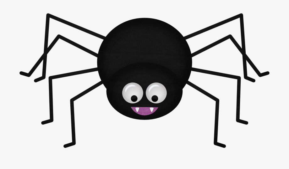 clip art black and white library Kid png kids clip. Spider clipart