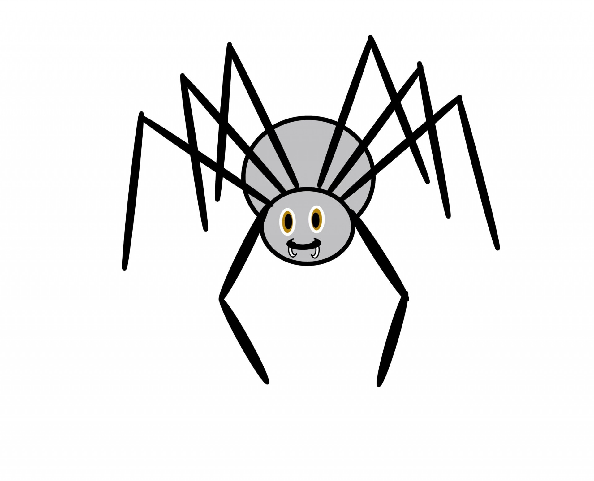 image library stock Free spiders cliparts download. Spider clipart