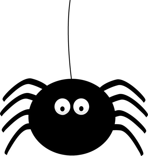 freeuse download Halloween . Spider clipart