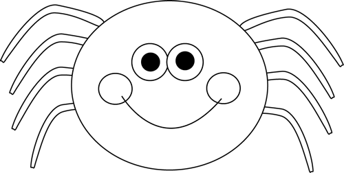 svg library library spider clipart black and white black and white halloween spider