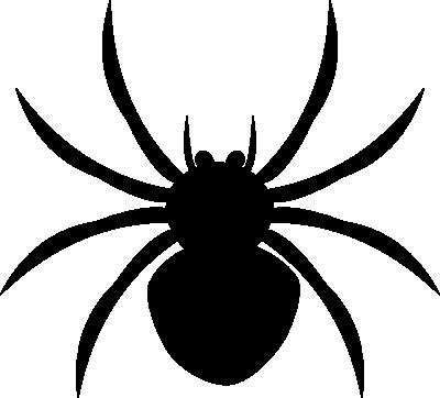 banner black and white Alt clip art black. Spider clipart for kids