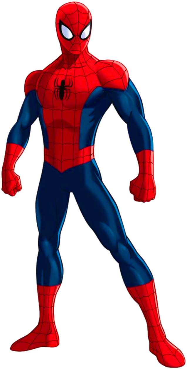 vector black and white library Spider Man Clip Art All Body Png