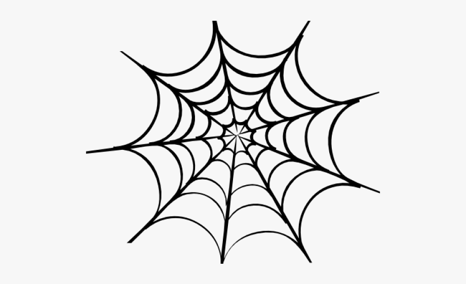 vector royalty free download Spider on web clipart. Man halloween tattoo png
