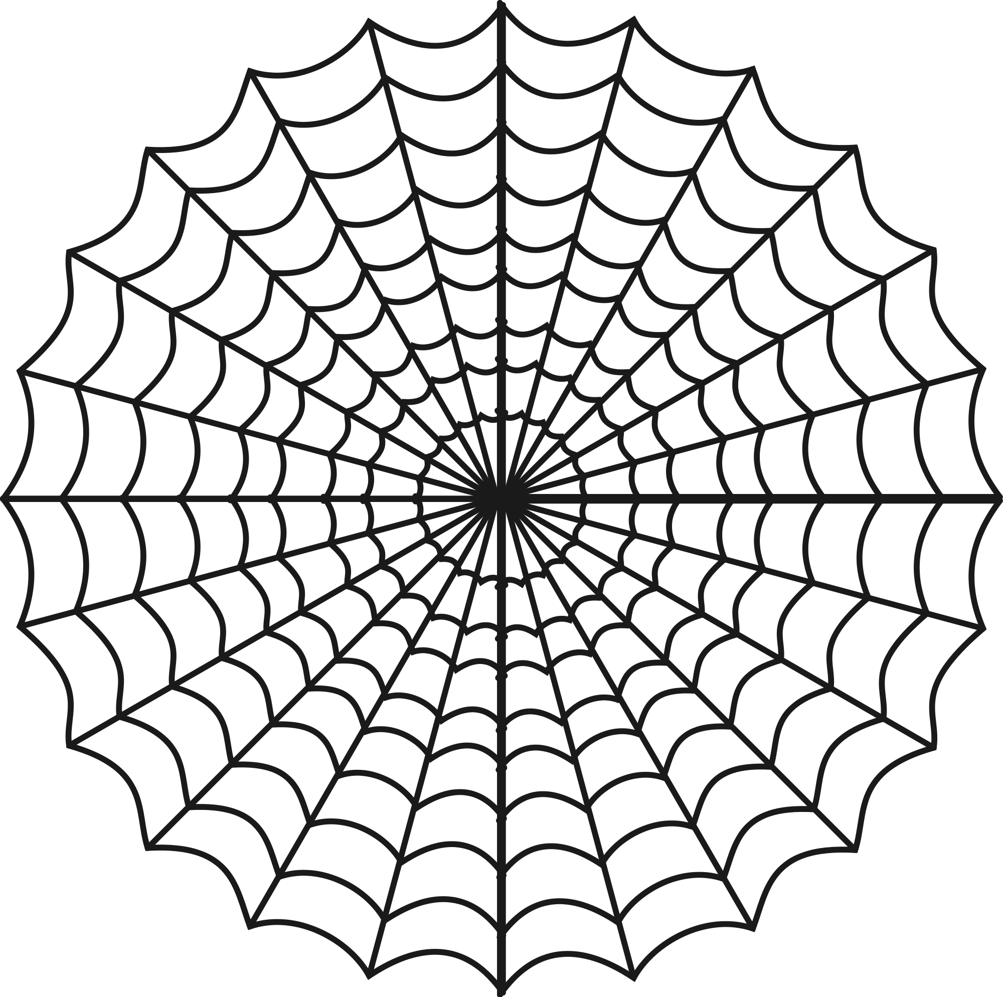 vector library stock Spider web clipart png. Photography wallpapers desktop phone