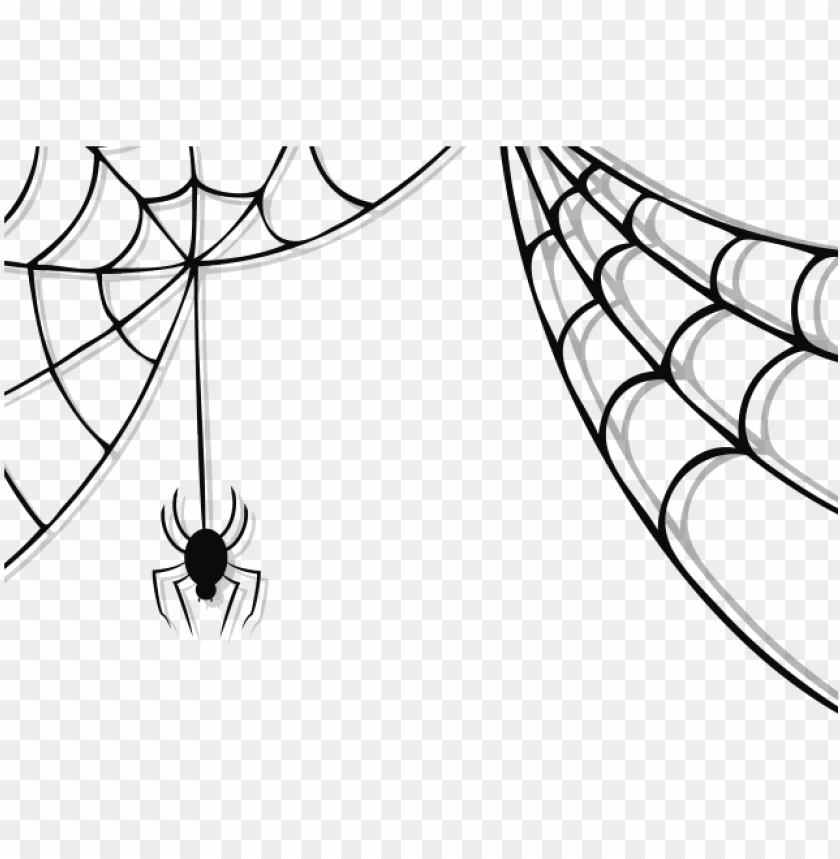 svg transparent library Spider web clipart. Cobweb cliparts free halloween