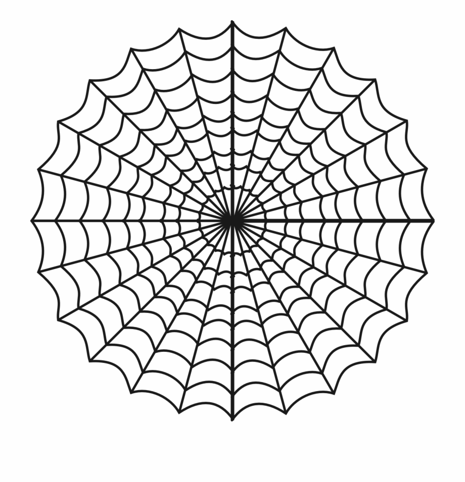 picture black and white library Spider web clipart free. Png images spiderman