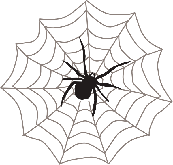 vector royalty free stock Spider web clipart images. With clip art at