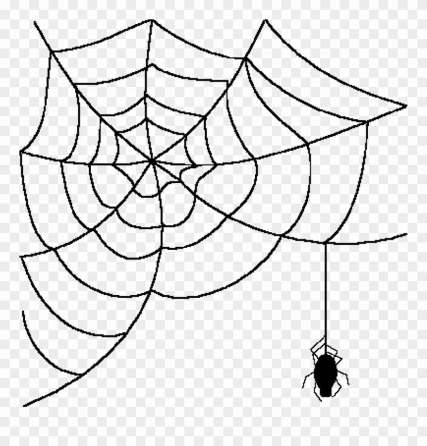 picture freeuse Spider web clipart transparent.